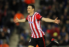 Aritz Aduriz of Athletic de Bilbao Stock Photography