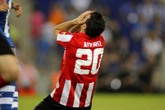 Aritz Aduriz of Bilbao Royalty Free Stock Images