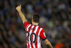 Aritz Aduriz de De sportif Bilbao Images libres de droits