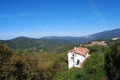 Aritzo (Σαρδηνία, Ιταλία) Στοκ φωτογραφία με δικαίωμα ελεύθερης χρήσης