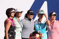 Ariya Jutanugarn at the ANA inspiration golf tournament 2015 Stock Photography