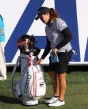 Ariya Jutanugarn au tournoi 2015 de golf d'inspiration d'ANA images stock