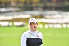 Ariya Jutanugarn in Honda LPGA Thailand 2017 Stock Photography
