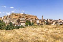 Ariza by, Spanien Arkivfoto
