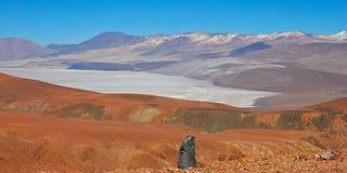 arizaro平面的盐 免版税库存照片