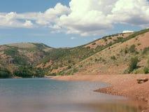 Arizona湖作梦 免版税库存照片