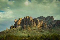 Arizona öken Fotografering för Bildbyråer