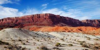 arizona ökenliggande Fotografering för Bildbyråer