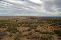 arizona ökenliggande arkivbild