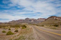 Arizona. Desert along the Route 66 Stock Images