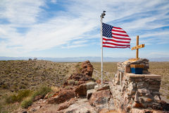 Arizona. Desert along the Route 66 Royalty Free Stock Photos