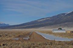 Arizona airstrip Royalty Free Stock Photography