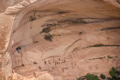 Arizona Anasazi fördärvar, Kanjon de Chelly den nationella monumentet Royaltyfria Foton