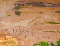 Arizona Anasazi fördärvar, Kanjon de Chelly den nationella monumentet Royaltyfri Fotografi