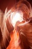 Arizona antylop canyon górnych strony usa Zdjęcia Royalty Free
