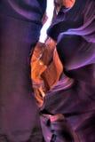 Arizona antylop canyon górnych strony usa Obraz Stock