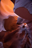 Arizona antylop canyon górnych strony usa Obrazy Stock
