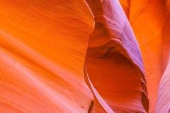Arizona antylop canyon górnych strony usa Obraz Royalty Free