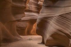 Arizona antylop canyon górnych strony usa Zdjęcie Royalty Free