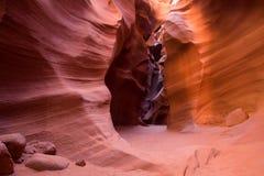 Arizona antylop canyon górnych strony usa Fotografia Royalty Free