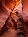 Arizona antylop canyon niższa strony do szczeliny Obrazy Stock
