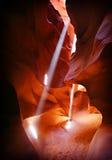 Arizona antylop canyon strona Zdjęcia Royalty Free