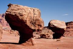 arizona balanserade färjalee nära rock s Royaltyfri Bild