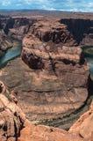 arizona bend horseshoe Στοκ φωτογραφία με δικαίωμα ελεύθερης χρήσης