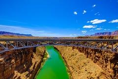 arizona bridge navajo Στοκ φωτογραφίες με δικαίωμα ελεύθερης χρήσης