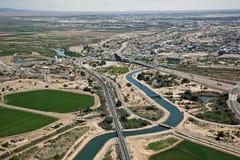 Arizona-California Border Royalty Free Stock Photography