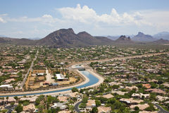 Arizona Canal Royalty Free Stock Photos