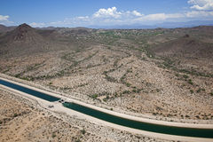 Arizona Canal Stock Images