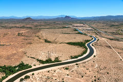Arizona Canal Stock Image