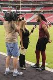Arizona Cardinals Larry Fitzgerald de NFL Images libres de droits