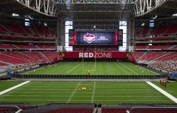 Arizona Cardinals University of Phoenix Football Stadium Stock Photo