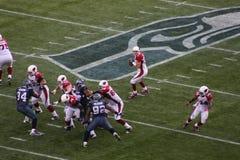 Arizona Cardinals win against the seattle seahawks Royalty Free Stock Photo