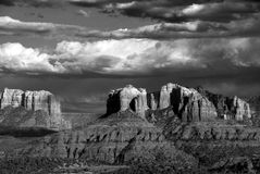 arizona cathderal sedony rock zdjęcia royalty free