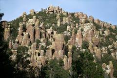 arizona chiricahuamonument nationella USA arkivbilder