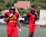 Arizona Christian University Firestorm football Royalty Free Stock Photos