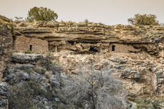 Arizona Cliff Dwellings Stock Photography