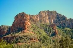 Arizona Cliff Royalty Free Stock Photography