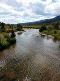 arizona Colorado podkowy rzeka usa zdjęcie royalty free