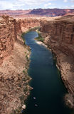 arizona colorado river view Royaltyfri Bild