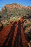 arizona cykeltrail royaltyfri fotografi