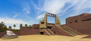 Arizona delstatsuniversitet Art Museum, Tempe, Arizona Arkivbilder