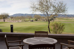 Arizona Desert Golf Course Royalty Free Stock Photos