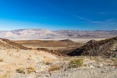 Arizona desert in January, USA. Scenic picture of the beautiful horizon in Arizona desert, USA Royalty Free Stock Photo