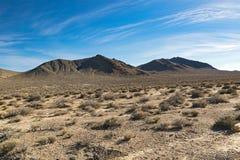 Arizona desert in January, USA. Scenic picture of the beautiful horizon in Arizona desert, USA Royalty Free Stock Photos
