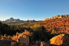 Arizona desert landscape Royalty Free Stock Photo