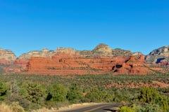 Arizona desert landscape Royalty Free Stock Images